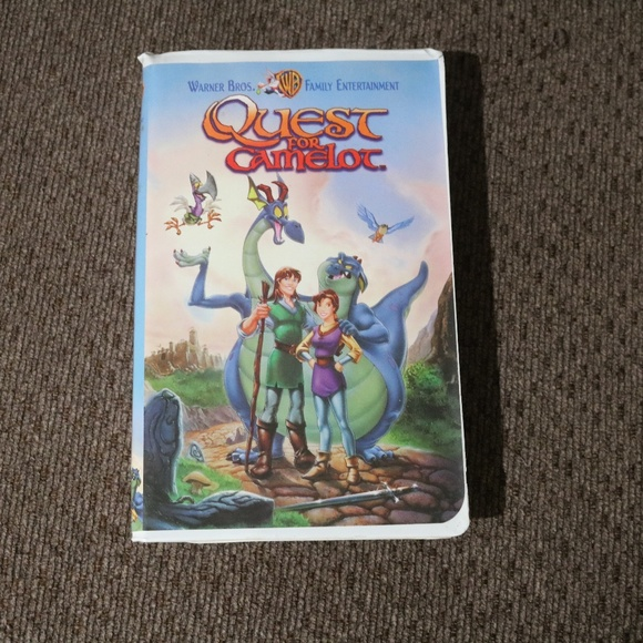 Other - Quest for Camelot VHS